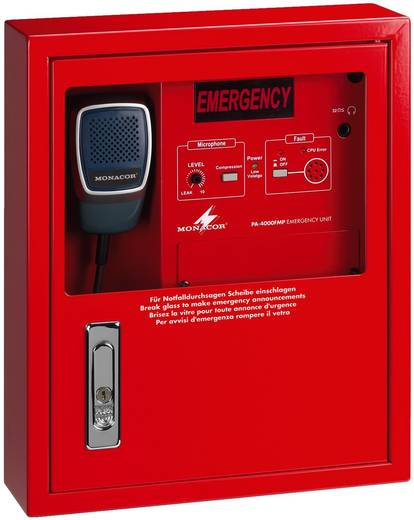 ELA-Feuerwehrsprechstelle Monacor PA-4000FMP