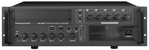 ELA-Verstärker Monacor PA-5480 480 W 5-Zonen