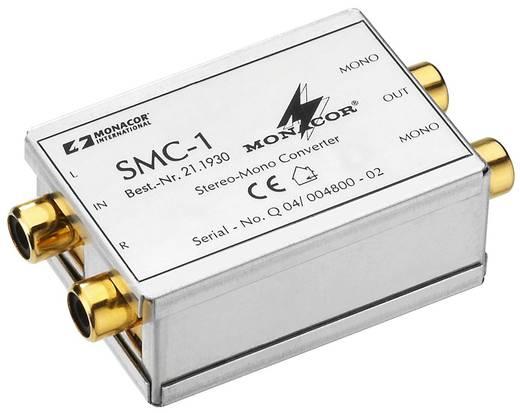 Stereo-Mono-Converter Monacor SMC-1