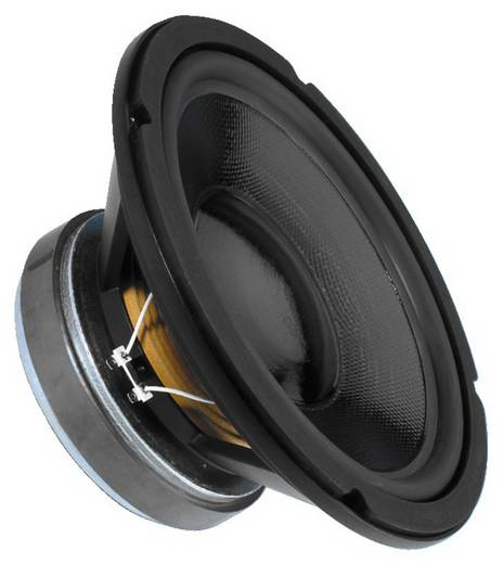 12 Zoll 30.48 cm Lautsprecher-Chassis Monacor SPH-300CTC 150 W 8 Ω
