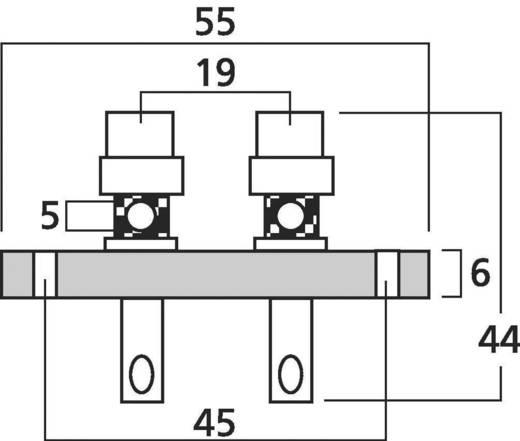 Monacor Lautsprecher-Schraubanschluss ST-925 1 St.