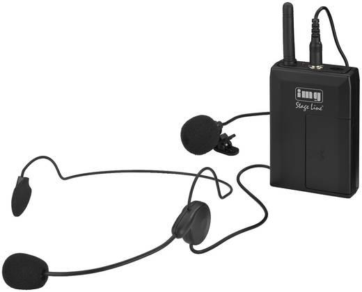 Headset Sprach-Mikrofon IMG STAGELINE TXS-813SX Übertragungsart:Funk Schalter
