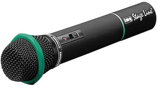 Hand Gesangs-Mikrofon IMG STAGELINE TXS-822HT Übertragungsart:Funk Metallgehäuse, Schalter