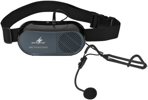 Headset Sprach-Mikrofon Monacor WAP-5 Übertragungsart:Kabelgebunden