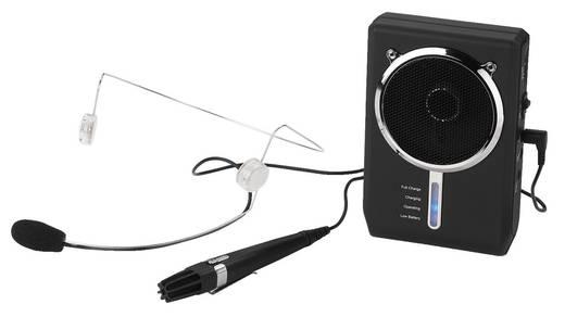 Headset Sprach-Mikrofon Monacor WAP-7D Übertragungsart:Kabelgebunden