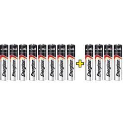 Mikrotužková batérie typu AAA alkalicko-mangánová Energizer Max LR03, 8+4 gratis, 1.5 V, 12 ks