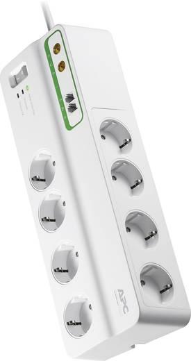 APC by Schneider Electric PMF83VT-GR Überspannungsschutz-Steckdosenleiste 8fach Weiß Schutzkontakt
