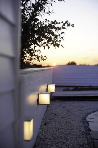 ECO-Light Cube 1846 gr Außenwandleuchte Energiesparlampe, LED E27 60 W Anthrazit
