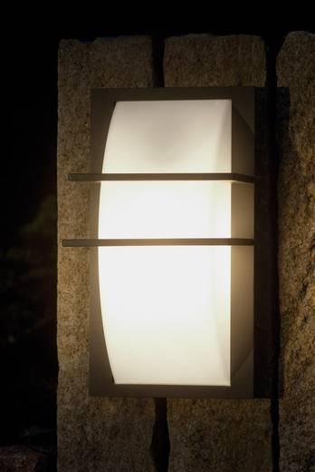 ECO-Light Geometry 1847A gr Außenwandleuchte Energiesparlampe, LED E27 100 W Anthrazit