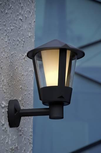 ECO-Light Horn 1251S gr Außenwandleuchte Energiesparlampe, LED E27 23 W Anthrazit