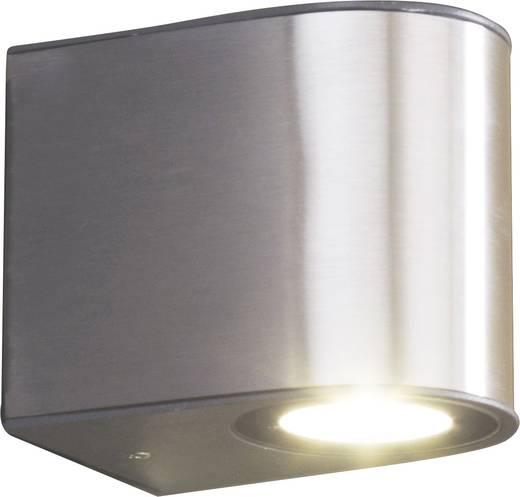 ECO-Light Gemini 1890 S LED-Außenwandleuchte 9 W Kalt-Weiß Edelstahl