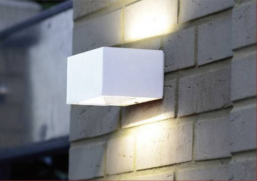 LED-Außenwandleuchte 9 W Kalt-Weiß ECO-Light Gemini 1891S WH Weiß
