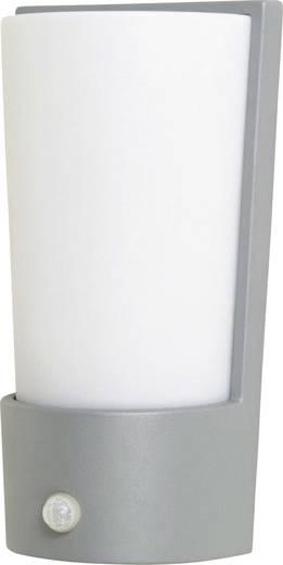 Außenwandleuchte mit Bewegungsmelder Energiesparlampe, LED E27 75 W ECO-Light Pino 1841-PIR4 si Silber