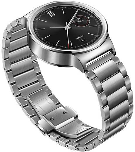 Huawei Montre Smartwatch () Gliederarmband Edelstahl