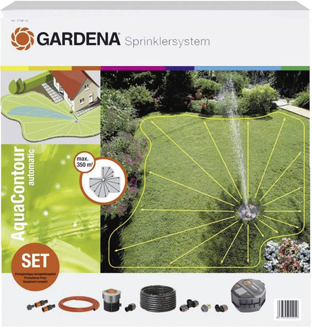 GARDENA Viereckregner ZoomMaxx Rasensprenger Garten 120-280 m² Regner bis 216m