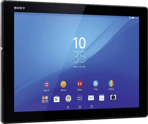 sony xperia xperia z4 android tablet 25 7 cm 10 1 zoll. Black Bedroom Furniture Sets. Home Design Ideas