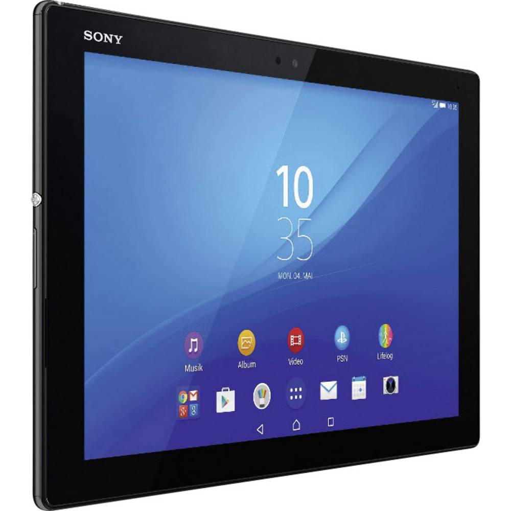 sony tablette android 10 1 pouces 32 go wifi noir. Black Bedroom Furniture Sets. Home Design Ideas