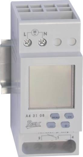 REX Zeitschaltuhren A43108 Hutschienen-Zeitschaltuhr 230 V
