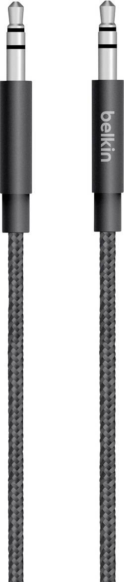 Jack audio kábel Belkin AV10164bt04-BLK, 1.20 m, čierna