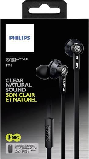 Philips TX1BK Kopfhörer In Ear Headset Schwarz