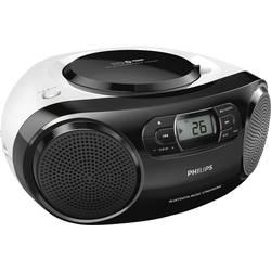 Rádio s CD prehrávačom Philips AZ330T, čierna, biela