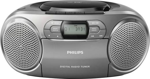 dab cd radio philips azb600 aux cd dab kassette ukw. Black Bedroom Furniture Sets. Home Design Ideas