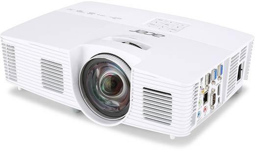 DLP Beamer Acer S1383WHne Helligkeit: 3100 lm 1280 x 800 WXGA 17000 : 1 Weiß