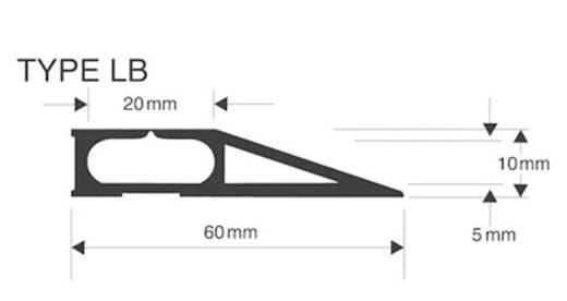 Vulcascot Kabelbrücke Grau Anzahl Kanäle: 1 4500 mm Inhalt: 1 St.