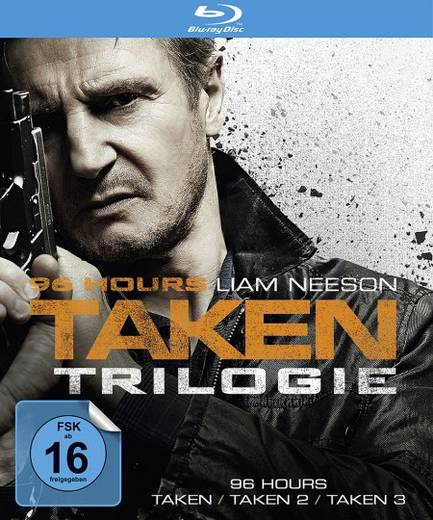 blu-ray 96 Hours Taken 1-3 FSK: 16