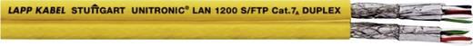 Netzwerkkabel CAT 7a S/FTP 4 x 2 x 0.33 mm² Gelb LappKabel 2170618 500 m