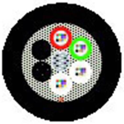 Glasfaserkabel Hitronic HQA 9/125µ Singlemode OS2 Schwarz LappKabel 26640996 2100 m
