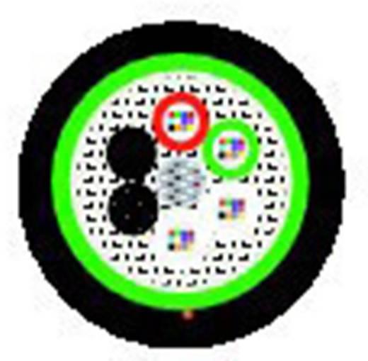 Glasfaserkabel Hitronic HVW 9/125µ Singlemode OS2 Simplex Schwarz LappKabel 26900924 2000 m
