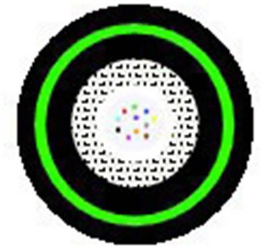 Glasfaserkabel Hitronic FIRE 62,5/125µ Multimode OM1 Schwarz LappKabel 27560108 2000 m