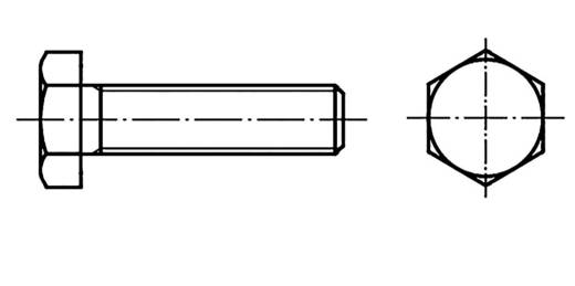 Sechskantschrauben M10 50 mm Außensechskant DIN 961 Stahl 100 St. TOOLCRAFT 133663