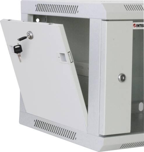 Intellinet 711838 19 Zoll Netzwerkschrank (B x H x T) 600 x 500 x 450 mm 9 HE Lichtgrau (RAL 7035)