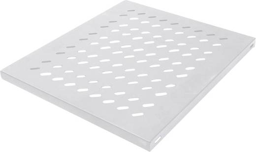 19 Zoll Netzwerkschrank-Geräteboden 1 HE Intellinet 712293 Festeinbau Geeignet für Schranktiefe: ab 1000 mm Grau