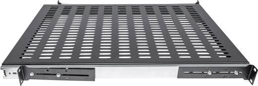 19 Zoll Netzwerkschrank-Geräteboden 1 HE Intellinet 712613 Ausziehbar Geeignet für Schranktiefe: ab 600 mm Schwarz
