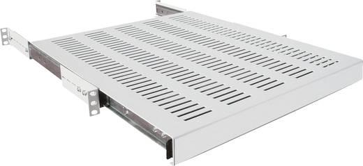 Intellinet 712330 19 Zoll Netzwerkschrank-Geräteboden 1 HE Ausziehbar Geeignet für Schranktiefe: ab 800 mm Grau