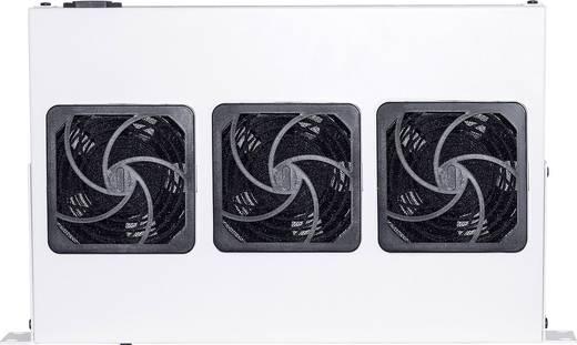 Intellinet 712378 19 Zoll 3 x Netzwerkschrank-Lüfter 1 HE Grau