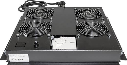 Intellinet 712866 19 Zoll 4 x Netzwerkschrank-Lüfter 1 HE Schwarz
