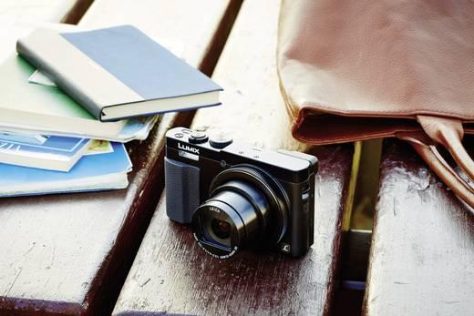 Panasonic DMC-TZ71EG-K Digitalkamera 12.1 Mio. Pixel Opt. Zoom: 30 x Schwarz Gehäuse (Body), inkl. Akku WiFi