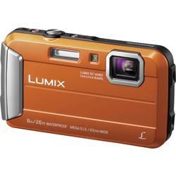 Digitální fotoaparát Panasonic DMC-FT30EG-D, 16.1 MPix, Zoom (optický): 4 x, oranžová