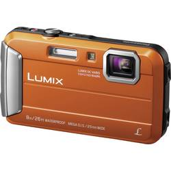 Digitálny fotoaparát Panasonic DMC-FT30EG-D, 16.1 Megapixel, Zoom (optický): 4 x, oranžová