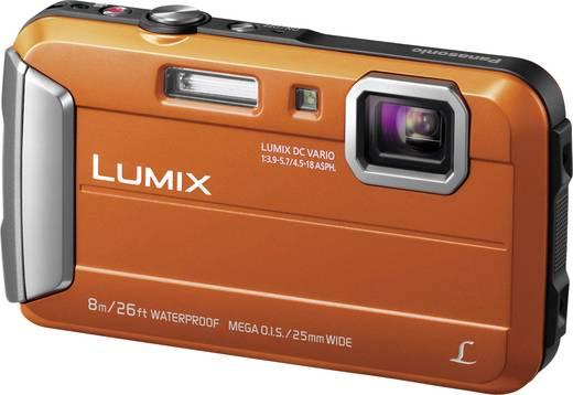 Panasonic DMC-FT30EG-D Digitalkamera 16.1 Mio. Pixel Opt. Zoom: 4 x Orange Unterwasserkamera, Frostbeständig, Spritzwas