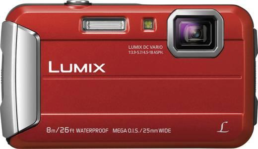 Panasonic DMC-FT30EG-R Digitalkamera 16.1 Mio. Pixel Opt. Zoom: 4 x Rot Unterwasserkamera, Frostbeständig, Spritzwasser