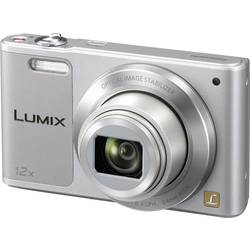 Digitální fotoaparát Panasonic DMC-SZ10EG-S, 16 MPix, Zoom (optický): 12 x, stříbrná