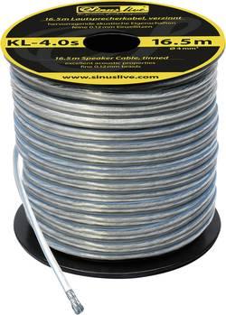 Sada kabelů SinusTec KL-4,0s, 14089, 4 mm², 16,5 m