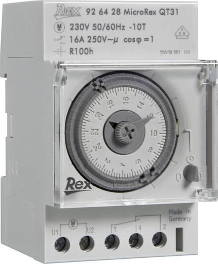 REX Zeitschaltuhren 926116 Hutschienen-Zeitschaltuhr 230 V 16 A/250 V