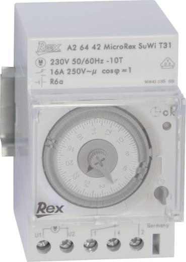 REX Zeitschaltuhren A26442 Hutschienen-Zeitschaltuhr 230 V 16 A/250 V