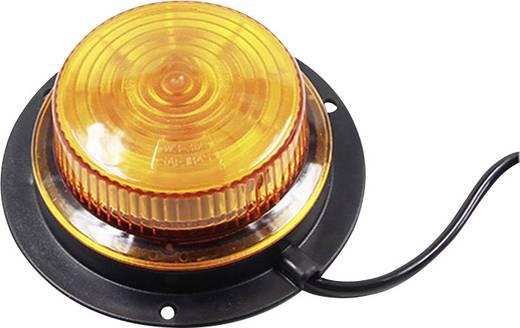 Rundumleuchte LED 12 V, 24 V über Bordnetz Magnet-Befestigung, Schraubmontage Orange SecoRüt E9-10R-03.6701